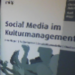 "Buchempfehlung ""Social Media im Kulturmanagement"""