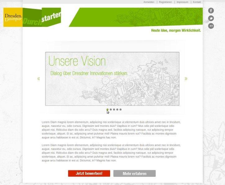 Screenshot Dresden Durchstarter