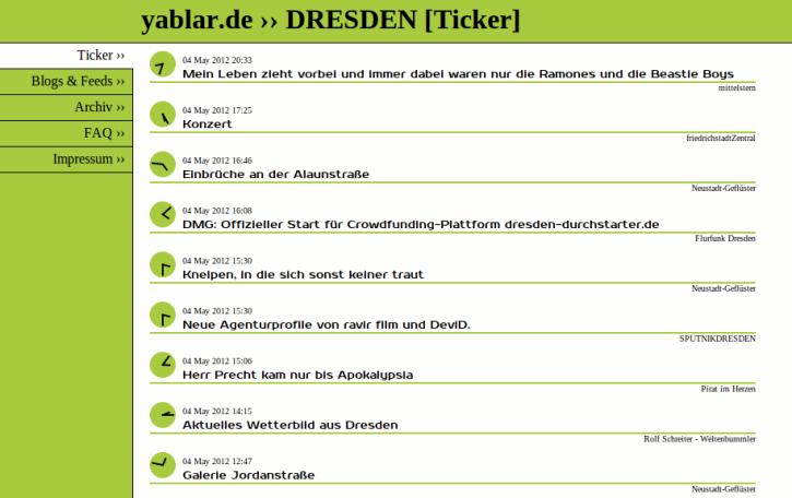 Screenshot yablar.de