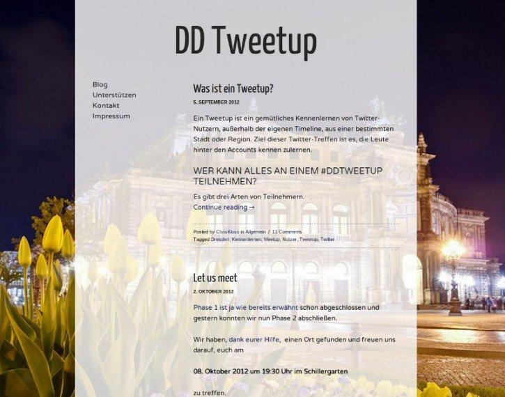 Dresden Tweetup