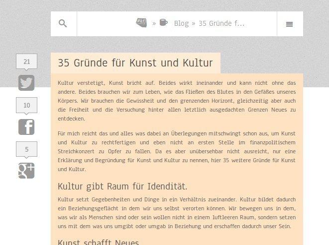 Webseite Blog konzeptfreun.de
